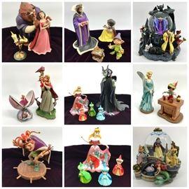 Collage Disney Figurines