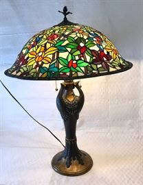 Tiffany Style Peacock Lamp  https://ctbids.com/#!/description/share/45038