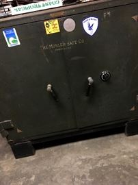 AND...A Mosler safe...With Combination!...