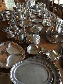 NOW...Filled With A Huge Pewter Collection!...WowZa!...