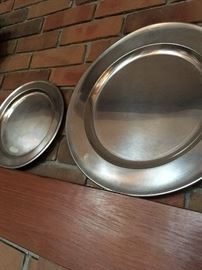 Simple Pewter plates...My FAVE!...
