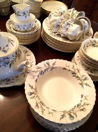 We've Loaded the To With Stunning China!...Like This Set Of Royal Albert ~ Brigadoon!...