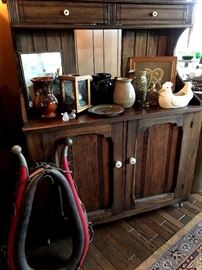 Love This Cabinet...and LOVE The Plow Bridle Even More!...