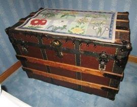Antique trunk