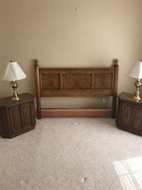 Headboard and Nightstands