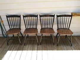 Hitchcock chairs