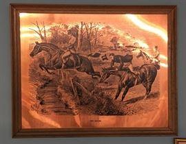 Copper Equestrian Art