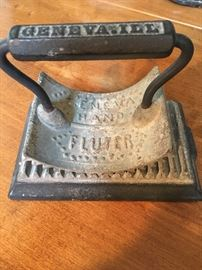 Antique cast iron Geneva Ill Sad heater