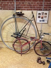 ORIGINAL 'American Star' bicycle...invented in the 1800's. Excellent condition!