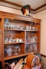 Glassware, reproduction radio