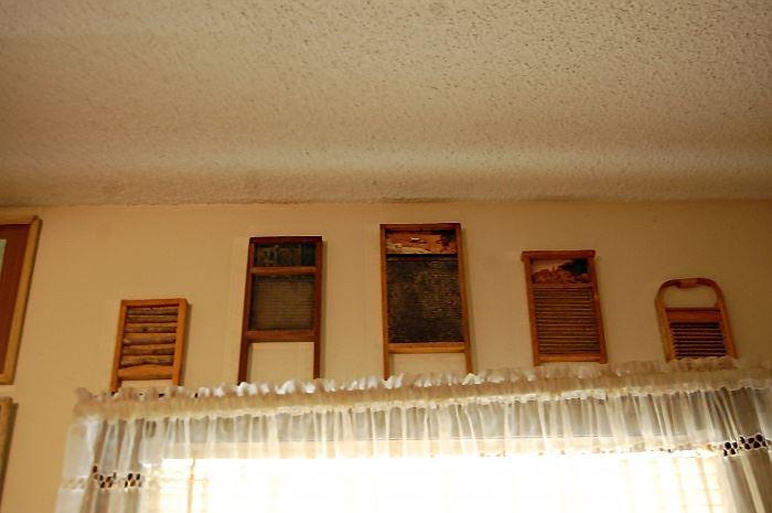 Antique washboards