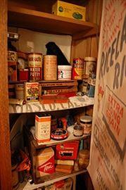 Antique & vintage tins & bottles