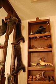 Victorian boot collection