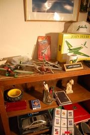 Plane collection, Hubley, TWA, etc.