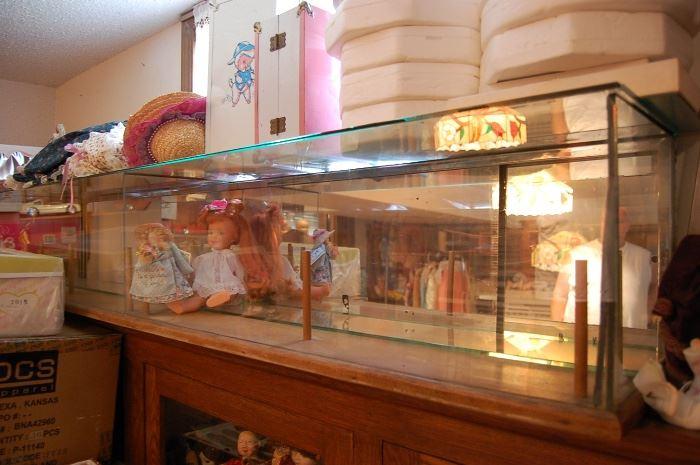 Antique pie store display, unusual