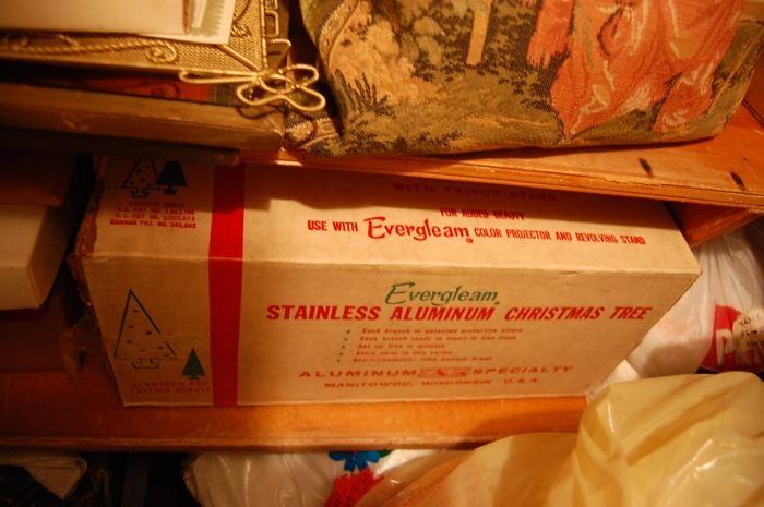 Evergleam Aluminum Christmas tree, Vintage
