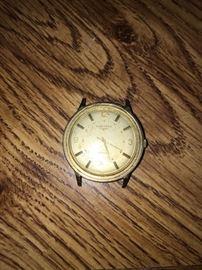 Longines 14K man's wrist watch