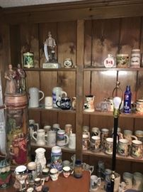 Beer Stein Collection, Toby Mugs