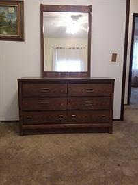 6Drawer Dresser Plus Mirror