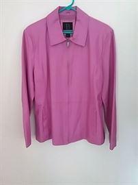 Bernado XL Leather Womans Jacket
