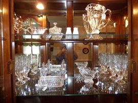 "Shannon of Ireland  ""Olympia"" crystal glass items"