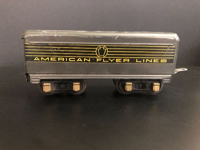 American Flyer Tender.    Set Up and Photo by BC