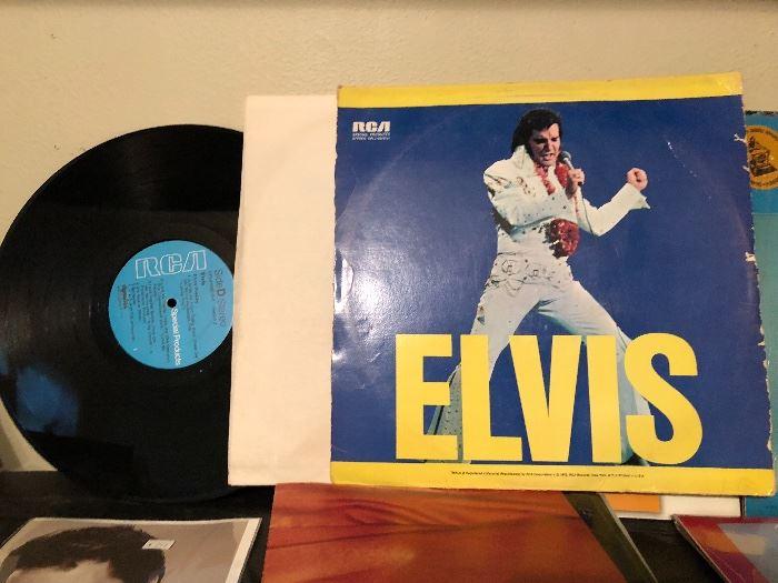 Elvis double album LP by RCA
