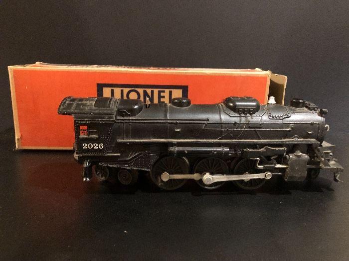 Vintage Lionel Toy Train Engine
