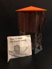 Vintage Lionel No 138 Water Tower