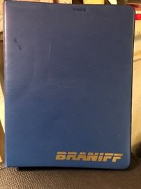 Vintage Braniff Guide to Flight plan and limitations and rest requirements