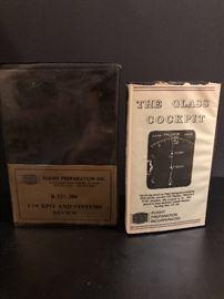 Vintage VHS pilot training cassette tapes
