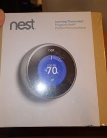 NEST LEARNING THERMOSTAT NEW IN BOXES X 2