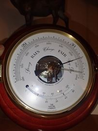 THE NATURE COMPANY WEATHER GAGE