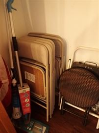FOLDING CHAIRS - MOPS - STOOL