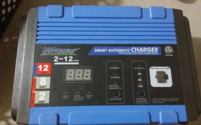 NPOWER SMART AUTOMATIC CHARGER