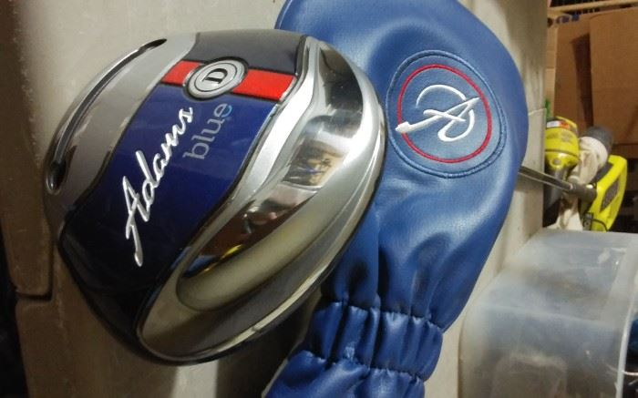 ADAMS BLUE GOLF CLUB D