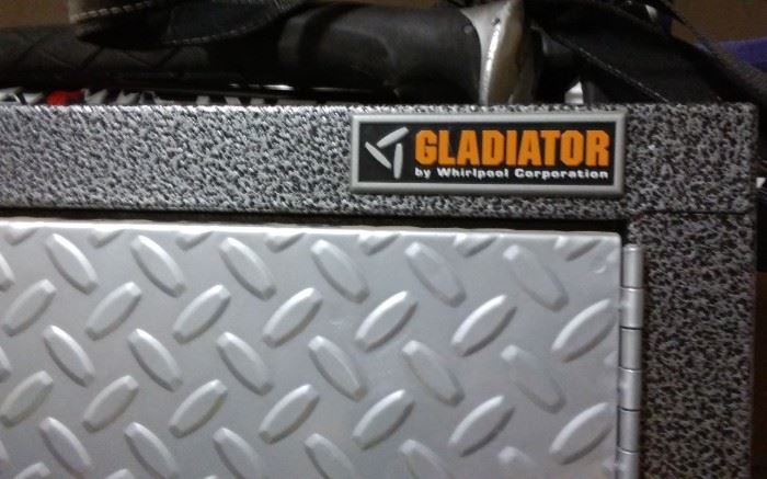 GLADIATOR STORAGE CABINET ON WHEELS