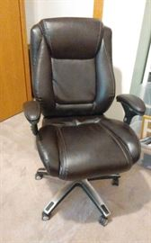 REALSPACE LEATHER OFFICE CHAIR