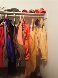 CLOTHES AND HUNTING GEAR