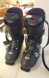 NEW SALOMON SKI BOOTS / ORIGINAL PRICE $600
