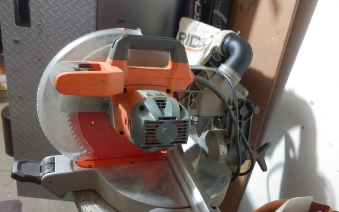 RIDGID SAW ON CART