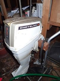 CHRYSLER #6 BOAT MOTOR
