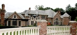 This is an 18 room home with guest house and 10 bathrooms.  One of a kind.  Luxury in every room.