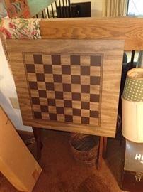 CHECKER BOARD TABLE