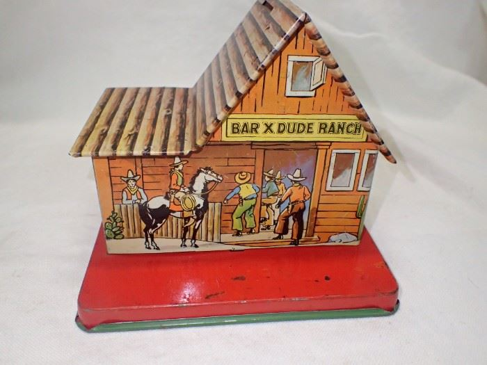 BAR X DUDE RANCH TIN HOUSE