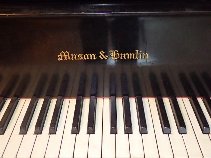 MASON & HAMLIN GRAND PIANO