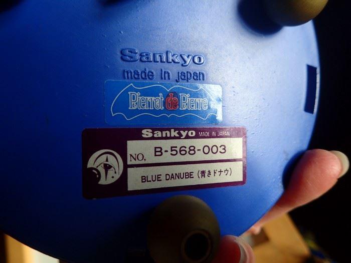 SANKYO PIERROT MUSIC BOX