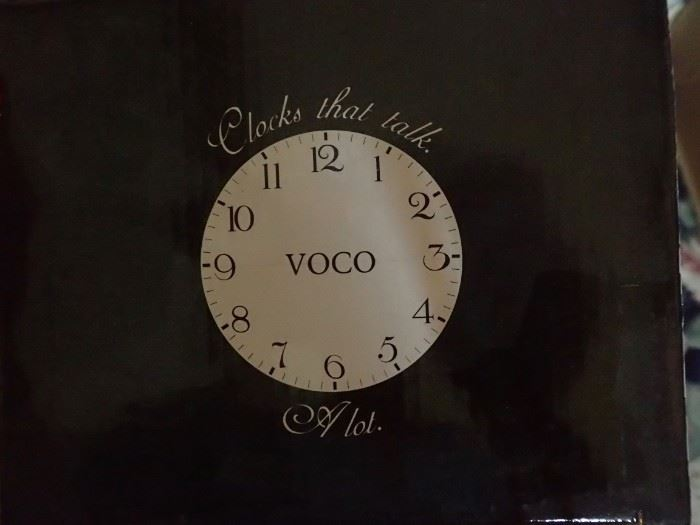 VOCO TALKING CLOCK