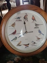 BIRD NOISE CLOCK