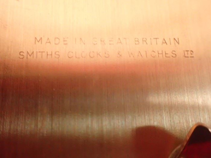 BRASS LANTERN CLOCK / 8 DAY / SMITHS ENGLAND